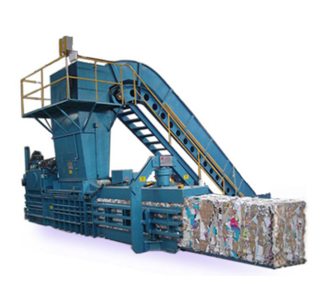 Semi Automatic Horizontal Type Waste Paper Baler